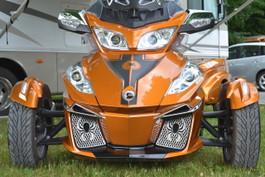 RT Front Grills 2014 and up - Spider - Stainless Steel
