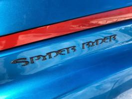 """Set of 2 - Carbon Fibre """"Spyder Ryder"""" Urethane MEDIUM letters"""