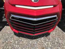 F3 Front Grill Inserts - Color Match Paint - Urethane - INTENSE RED (18 PCS)