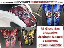RT Glove Box Protector - Urethane - Spyder Ryder series - 3 colors  (All years)