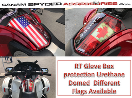 RT Glove Box Protector - Urethane - The Flag series -   (All years)