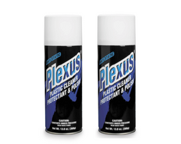 Plexus Plastic Cleaner - 13oz (2 cans)
