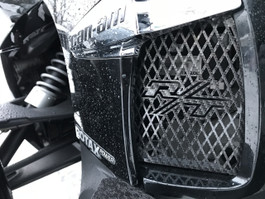 RT Lower Side Grills - Fits all years - 2 RT Logos - Carbon Fibre Special Edition