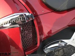 RT Lower Side Grills - Fits all years - 2 RT Logos - Carbon Fibre Red Special Edition