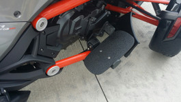 F3 Series Line-X Aluminium Riders  Floorboards