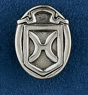 Sterling Silver Holsteiner Stock Pin or Tie Tack