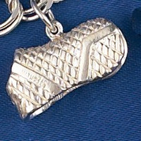 Sterling Silver Horse Blanket Charm or Pendant