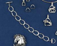 Sterling Silver Horseshoe Bracelet