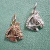 Sterling Silver Hunter/Jumper/Event Horse Head Charm or Pendant