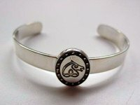 Irish Sport Horse Sterling Silver Breed Bangle Bracelet