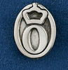 Sterling Silver Oldenburg Lapel Pin or Tie Tack