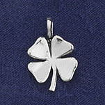 Sterling Silver Shamrock Charm or Pendant