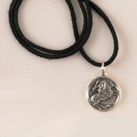 St. Santiago Medal Pendant on Cord.
