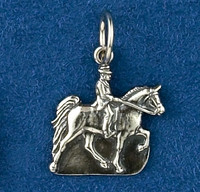 Sterling Silver Tennessee Walker Horse Charm or Pendant