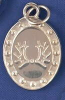 Sterling Silver Trakehner Breed Charm or Pendant