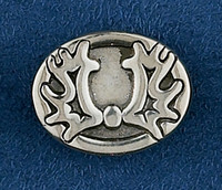 Sterling Silver Trakehner Lapel Pin or Tie Tack