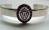 Sterling Silver Westphalian Breed Bangle