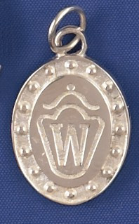 Sterling Silver Westphalian Breed Charm or Pendant