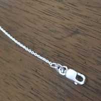 Sterling Silver 2mm Rolo Chain 18""