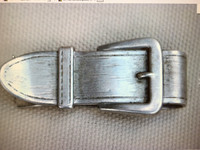 Vintage Sterling Silver Buckle Design Money Clip