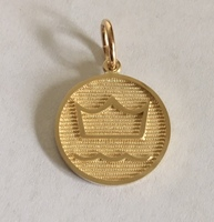 14k Gold Danish Warmblood Breed Charm or Pendant