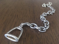 Vintage Gucci Bracelet with Stirrup and Snaffle Bit Closure