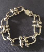 Vintage Equestrian Motif Link Bracelet