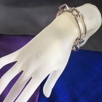 Vintage and Unique Ralph Lauren Solid Silver Link Bracelet