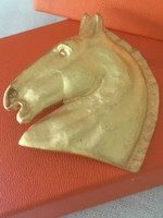 Vintage and Classic Hermes Horse Head  Pin
