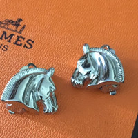 Vintage Petite Hermes Earrings