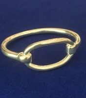 Vintage Ralph Lauren Oval Loop Snap-In Bangle Bracelet