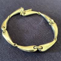 Sterling Silver Equestrian Horse Bit Motif Bracelet