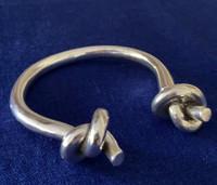 Silver Knots Bracelet