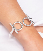 Flexible Full Cheek Snaffle Bit Bracelet
