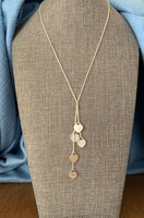 Vintage Return to Tiffany  Tiny Heart Drop Necklace