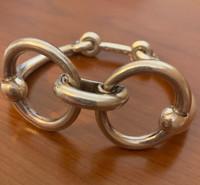 Rare Vintage Hermes Snaffle Bit Bracelet