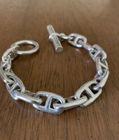 Vintage Ralph Lauren Chain D'Ancre Style Toggle Bracelet