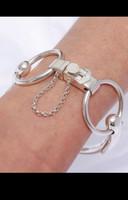 Gorgeous Silver-Plated Antique Trotteur Snaffle Bit Bracelet