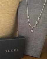 Vintage Gucci Snaffle Bits Y Necklace