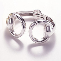 Great Horse Designs Snaffle Bit Cuff Bracelet in Sterling Silver