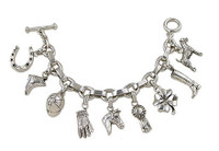 The Ulimate Rider's Charm Bracelet