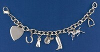 Have-A Heart Charm Bracelet with Heart and Six Charms