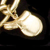 14k Gold English Saddle Charm or Pendant