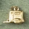 14k Gold Horse Trailer Charm or Pendant