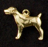 14k Gold Jack Russell Charm or Pendant