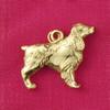 14k Gold Springer Spaniel Dog Charm or Pendant