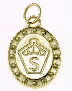 14k Gold Swedish Warmblood Breed Pendant or Charm