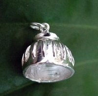 Sterling Silver Bell Boot Charm or Pendant