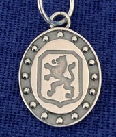 Sterling Silver Dutch Warmblood Breed Charm or Pendant