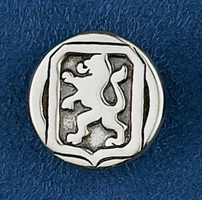 Sterling Silver Dutch Warmblood Lapel Pin or Tie Tack